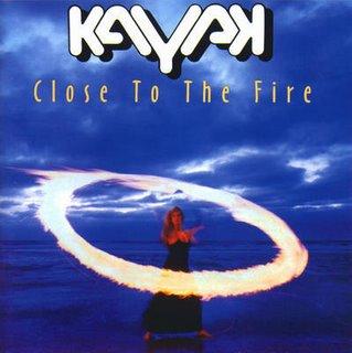 kayak - close to the fire