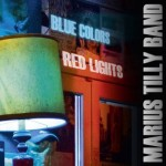 marius tilly band - blue colors red lights